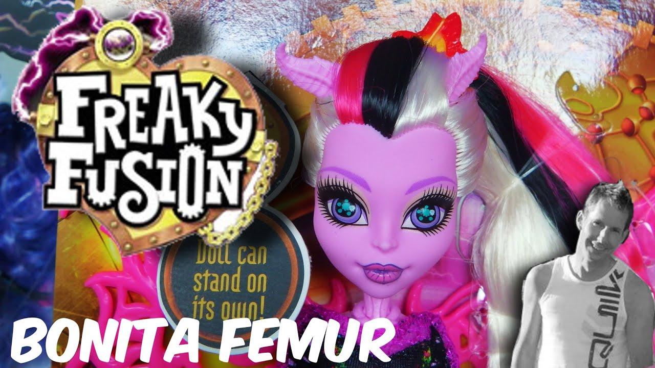Freaky fusion bonita femur monster high youtube - Monster high bonita ...