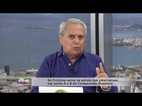 Só Criciúma vence na estreia dos catarinenses nas séries A e B do Campeonato Brasileiro