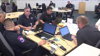 Behind the scenes of the Emergency Operations Center in SA amid coronavirus pandemic The Emergency Operations Center (EOC) in San Antonio fully activated on Friday for the coronavirus pandemic. Since then, several agencies have come ..., From YouTubeVideos