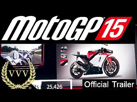 MotoGP 15 Announcement Trailer