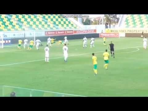 AEK Larnaca vs Petrocub 1-0 Goal