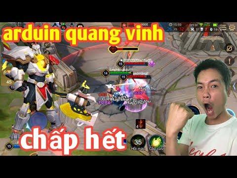 Liên Quân _ Trong Tay Arduin Quang Vinh | Anh Hảo Trở Thành Support Quốc Dân Cực Gắt