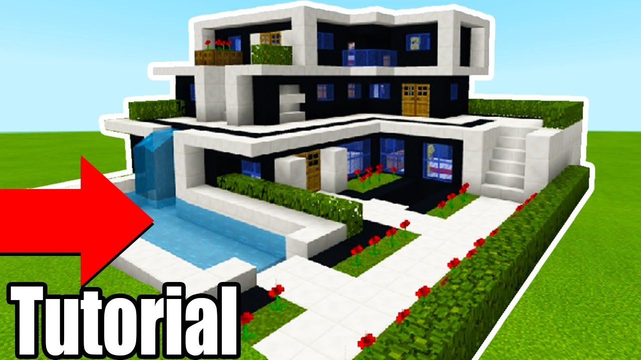 minecraft houses step by step modern