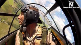 Spitfire and Hurricane multicam, GoPro air to air 1080P
