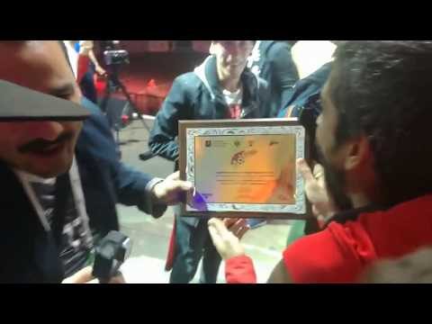 Dlkbza FC-Paraguay recibe Grand Prix - Art-Football Rusia 2017