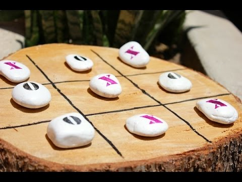 DIY Wooden Outdoor Tic Tac Toe Board YouTube Enchanting Making Wooden Board Games