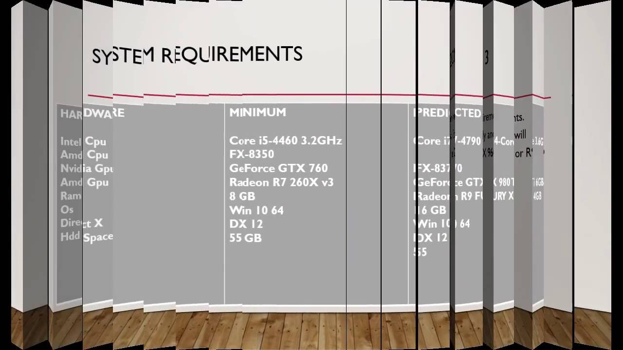 Forza Horizon 3 system requirements