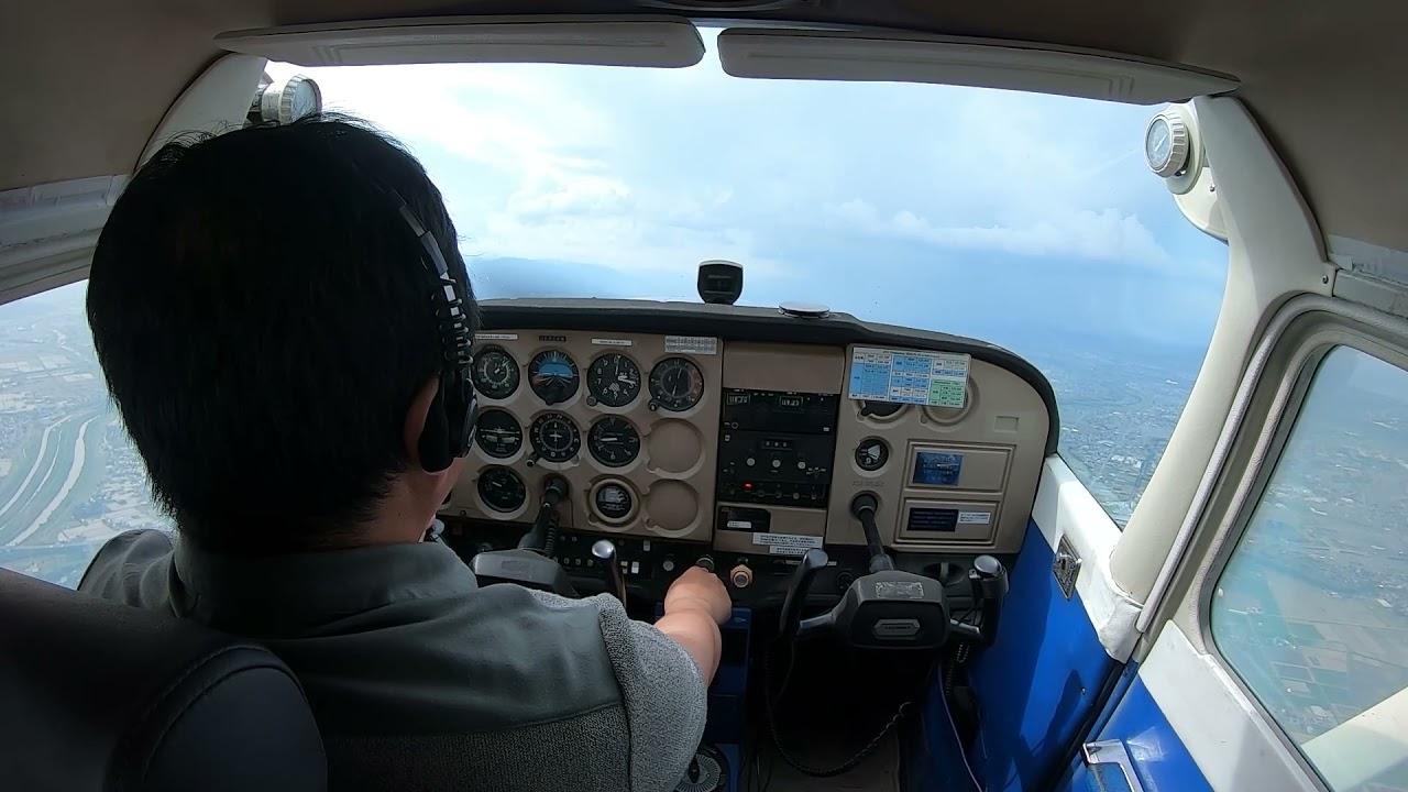 12 着陸形態における低速飛行と失速操作(Landing Attitude Stall)【セスナ式C-172操縦法】
