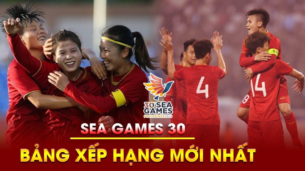 BẢNG XẾP HẠNG bóng đá SEA Games 30 | VIỆT NAM đứng đầu bảng