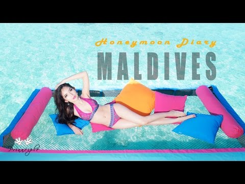 VLOG # 5 : Honeymoon Trip 2017 at Sun Aqua Vilu Reef Maldives with GoPRO Hero 5 Black