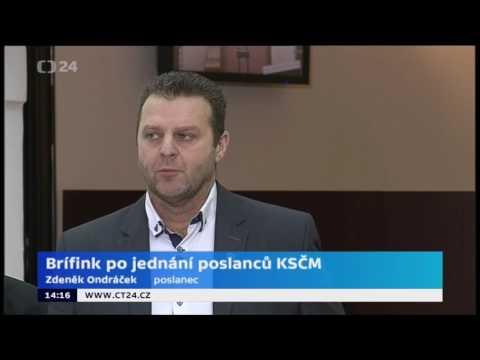 Tisková konference KSČM - 17. 1. 2017