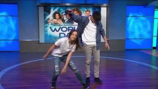 Sean Lew amp Kaycee Rice Dance LIVE on KTLA