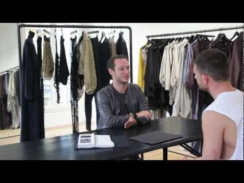 LN-CC FILM: Damir Doma SS12 | Damir discusses the collection