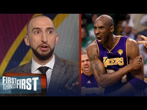 Nick Wright rips Kobe for his condescending remarks on LeBron James | NBA | FIRST THINGS FIRST