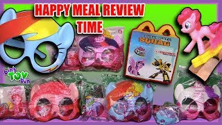 My Little Pony 2017 | McDonalds Happy Meal Review Time | Bins Toy Bin