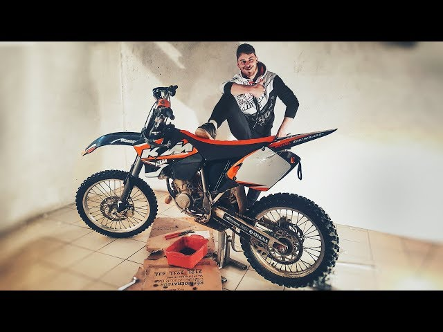 ON RÉPARE ET ON VEND LA KTM 125 !