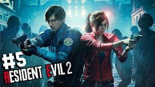 КАНАЛИЗАЦИОННЫЙ УЖАС. ЛЕОН. СЛОЖНОСТЬ: ХАРДКОР ● Resident Evil 2 #5