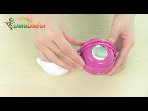 iPod / PC / MP3 / MP4 Stereo Speaker Mini Round - dinodirect