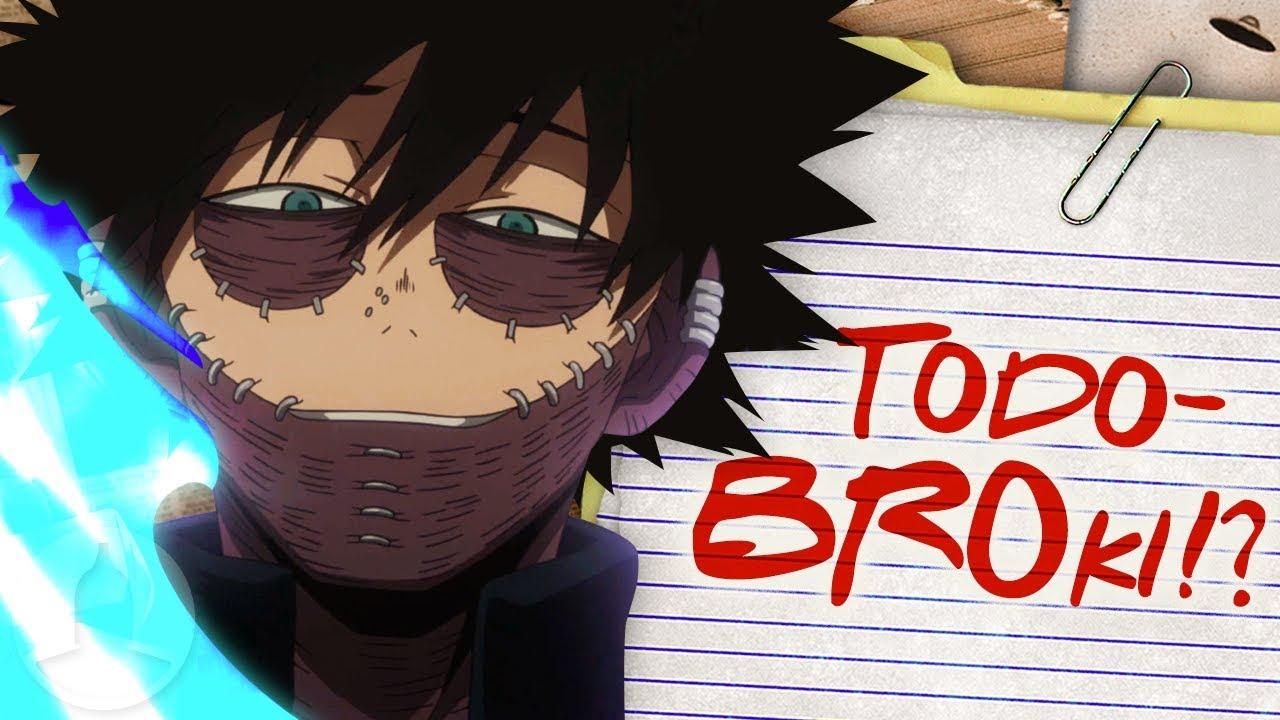 Dabi Is Shoto Todorokis Brother My Hero Academia Conspiracy