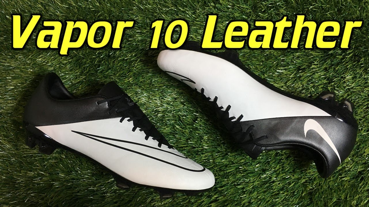 K-Leather Nike Mercurial Vapor 10 (Tech Craft Pack) Light Bone Black -  Review + On Feet - YouTube 4754c9599