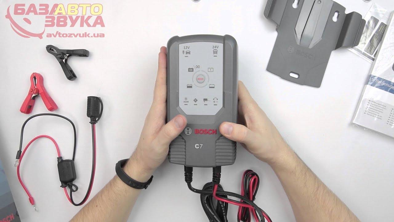 Bosch c7 инструкция скачать