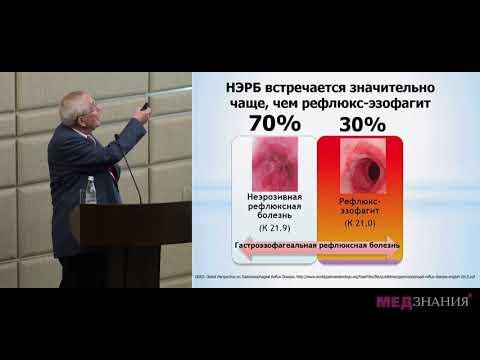 ГЭРБ (неэрозивные формы). Диагностика, лечение. Минушкин Олег Николаевич