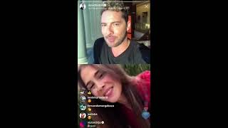 Instagram  David Bisbal Con Greeicy Rendon Presentando Perdón