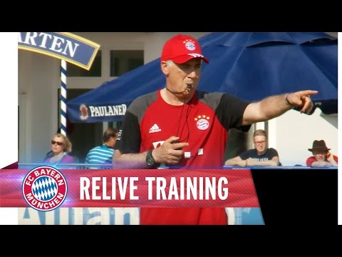 FC Bayern's 1st Training under Carlo Ancelotti | ReLive