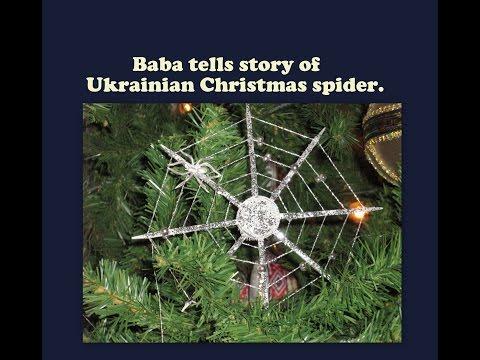 Baba Tells Ukrainian Christmas Tree Spider Story