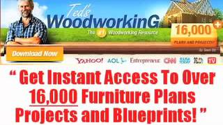 Teds Woodworking Plans Ebook / Free Woodworking Patterns For Beginners