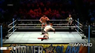 WWE-W13 Gameplay Walkthrough #2 ( Sheamus )