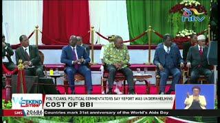 Politicians claim BBI report is underwhelming