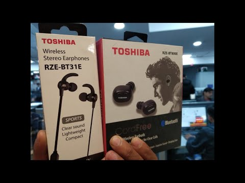 Toshiba के नए wireless earbuds | Tech Tak