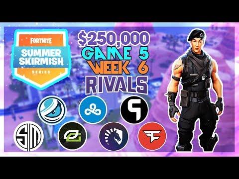 $250,000 🥊Rivals Summer Skirmish🥊 Week 6 Game 5 (Fortnite)