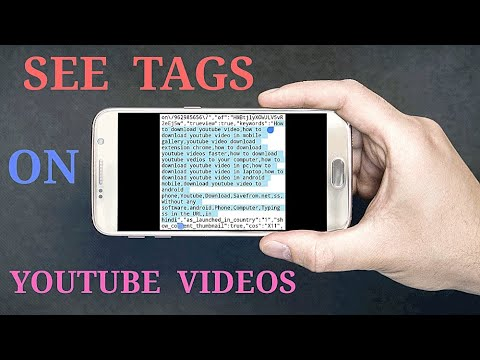 How To See Tags On Youtube Videos