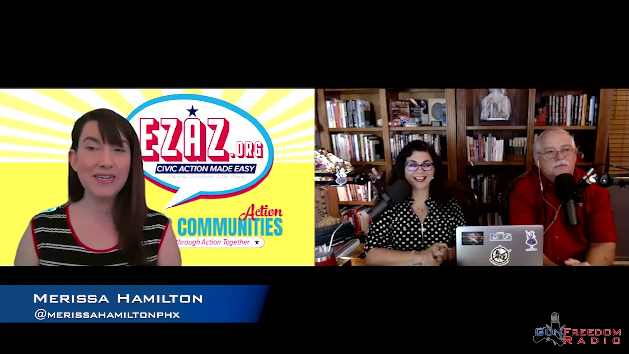 GunFreedomRadio EP306 Making Civic Action As Easy As Pie with Merissa Hamilton