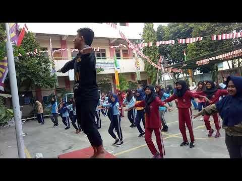 Goyang Nasi Padang Ala Anak Pramuka Smp-smk Islamiyah Serua,depok
