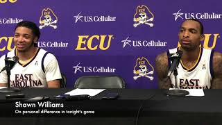 ECU v. USF Postgame: Players