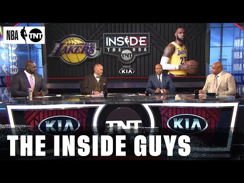 Charles Barkley: Damian Lillard, CJ McCollum rank as a Top 3 backcourt (and more from the NBA on TNT crew)