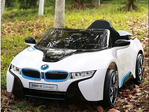 Bmw I8 12v Kids Ride On Battery Powered Wheels Car Rc