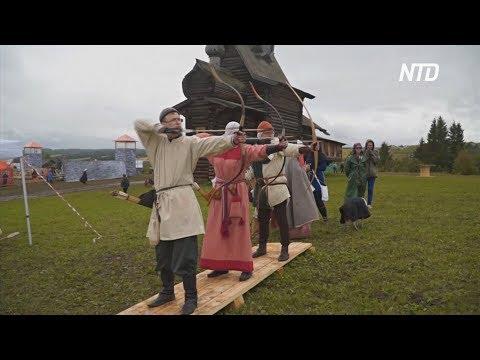 Как жил и сражался русский народ, показали на фестивале в Хохловке