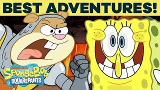 TOP 20 SpongeBob Adventures in Bikini Bottom! 🍍 | #TBT