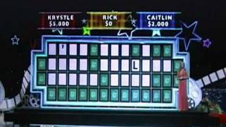 Wheel of fortune scandal ! Lady solves 27 letter puzzle with one letter !