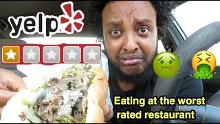 EATING AT THE WORST REVIEWED RESTAURANT IN MY CITY  1 STAR (LOS ANGELES)
