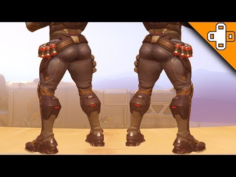 Reaper Teaches How To Twerk! Overwatch Funny & Epic Moments 751