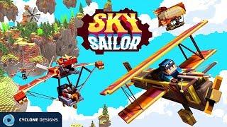 Minecraft - Sky Sailor Part 1 - Exploring Mysterious Islands