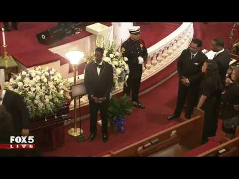 Funeral for Colts linebacker Edwin Jackson