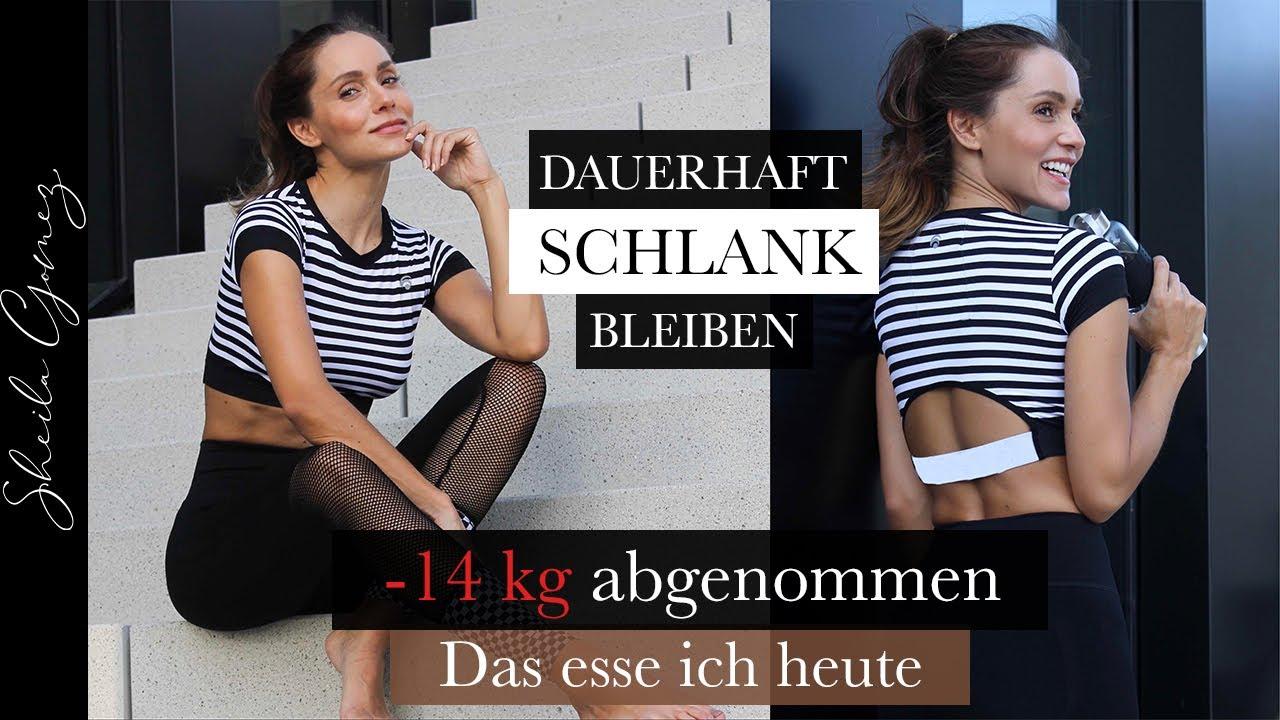 14 Kilo abgenommen! | Was ich heute esse | Dauerhaft schlank werden und bleiben! | Sheila Gomez