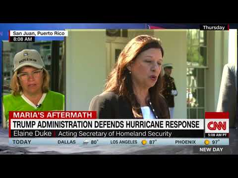 San Juan Mayor Carmen Yulin Cruz blasts Duke's 'good news' comments