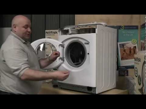 How To Fit A Washing Machine Door Seal Youtube